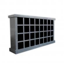 Columbaria 32 Single Sided Niches GLO-CREM-3201-S