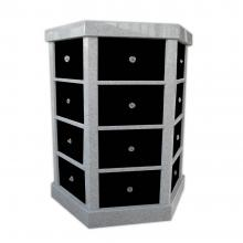 Columbaria 48 Niche Hexagonal Six Sided GLO-CREM-4805-H