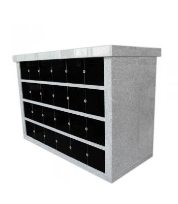 Columbaria 48 Niche Double Sided GLO-CREM-4806-D