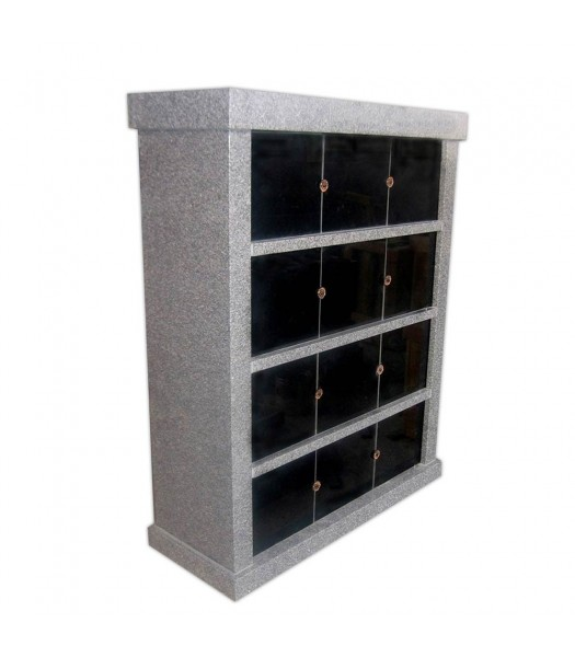 Columbaria 12 Niche Single Sided GLO-CREM-1205-S
