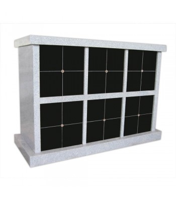 Columbaria 48 Niche Double Sided GLO-CREM-4801-D