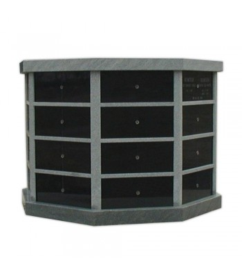 Columbaria 64 Niche Octagonal Eight Sided GLO-CREM-6402-O
